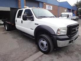 LHD 2005 Ford F550 Crew Cab 6.0 TDV8 Pick Up LEFT HAND DRIVE