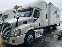 2016 Freightliner Cascadia Expediter Straight Truck Cummins ISX12.