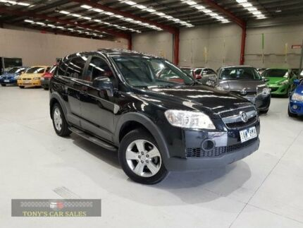 2010 Holden Captiva Black Sports Automatic Wagon Laverton North Wyndham Area Preview