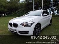 BMW 1 SERIES 116I SPORT, White, Manual, Petrol, 2013
