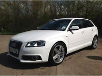 FINANCE AVAILABLE GOOD BAD OR NO CREDIT*** AUDI A3 WHITE*** £269 PCM
