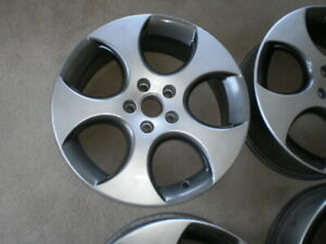 Factory VW 18 inch alloys bridgestone tires