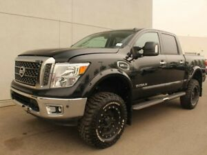 2017 Nissan Titan 6 INCH LIFT!! AFTERMARKET RIMS AND TIRES, EXTR