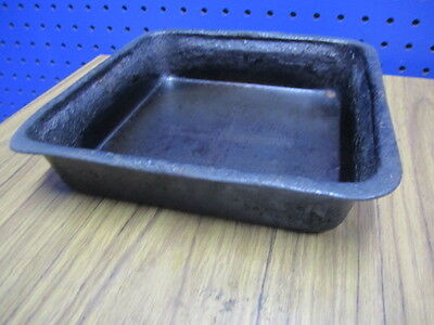 LOT 7 SQUARE BAKING PANS - BREAD STICKS / CHEESY BREAD - Send best