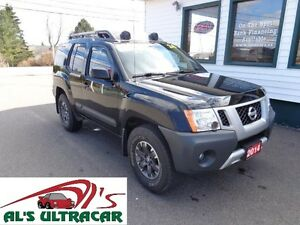 2014 Nissan Xterra PRO-4X w/ NAV/LTHR $106 weekly all in!