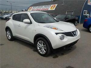 2013 Nissan JUKE SV LEATHER, AWD, SUNROOF EVERYONE APPROVED