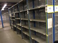 job lot 5 bays dexion impex industrial shelving ( storage , pallet racking )