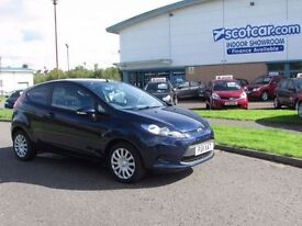 FORD FIESTA 1.2 EDGE REDUCED £500 One Previous Owner, FS (blue) 2011