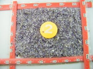 5000+Pcs Natural Amethyst Quartz Crystal Mini Stone Rock Chips Specimens Healing