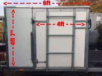 Box / Flatbed trailer