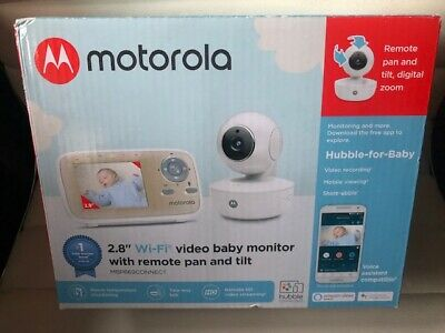 "Motorola MBP669CONNECT Video Baby Monitor with 2.8"" Handheld Parent Unit"