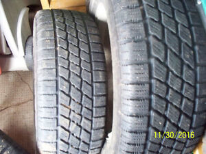 Winter tires 195/60/14 on Mazda alloy wheels