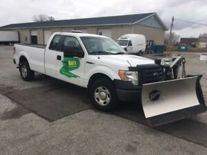 2009 Ford 4X4 with Fisher Plow 519-990-1627