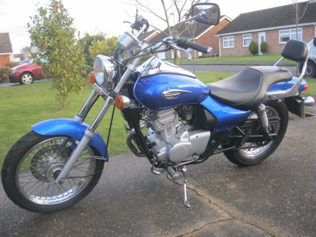 KAWASAKI BN 125 A6F ELIMINATOR CUSTOM CRUISER MOTORCYCLE-2006-FULL 12 MONTH MOT