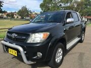 2008 Toyota Hilux GGN25R 07 Upgrade SR5 (4x4) Black 5 Speed Automatic Dual Cab Pickup Lidcombe Auburn Area Preview
