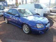 2004 Subaru Impreza MY04 RS (AWD) Blue 4 Speed Automatic Sedan Homebush West Strathfield Area Preview