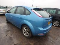 BREAKING FORD FOCUS ZETEC MK3 VISION BLUE 2009 5DR MOST PARTS AVAILABLE 69k