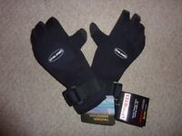 Diving Sports Wetsuit Gloves. 3mm. Size L. BNWT. Free P & P.