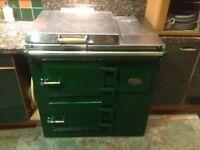 Everhot cooker, electric AGA , 2 ovens 2 hotplates