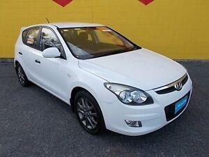 2012 Hyundai i30 FD MY11 Trophy White 4 Speed Automatic Hatchback Winnellie Darwin City Preview