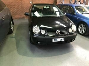 2004 Volkswagen Polo 9N Elite Black 4 Speed Automatic Hatchback Dandenong South Greater Dandenong Preview