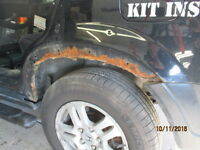 Welder to patch two quarter panels