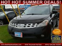 2005 Nissan Murano SL AWD SUV with LEATHER, SUNROOF!! LOADED!