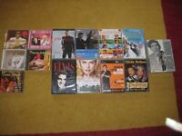 Selection Of Twenty Eight DVDs And Compact Discs. £22.00 ono
