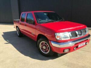 2000 Nissan Navara D22 S3 DX Utility Dual Cab 4dr Man 5sp 1205kg 3.0i Red Manual Utility Villawood Bankstown Area Preview