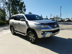 2019 Toyota Fortuner GUN156R MY19 GXL Silver 6 Speed Automatic Wagon Singleton Heights Singleton Area Preview