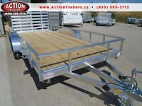 ABSOLUTE LOWEST PRICES WITH OUR NEW ALL ALUMINUM  7X16' TRAILER