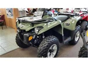 450 EFI CAN-AM 4X4 $97 BI-WEEKLY TAX IN 5 YEAR WARRANTY