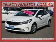 2018 Kia Cerato YD MY18 S White 6 Speed Auto Seq Sportshift Sedan Homebush Strathfield Area Preview