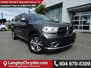 2016 Dodge Durango Limited *ACCIDENT FREE * DEALER INSPECTED...