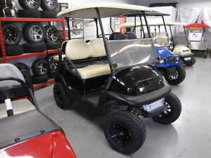 2007 Club Car Prec 48V Black Golf Cart