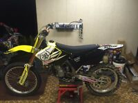 2002 Suzuki RM125 with lots of new parts. $2699. OBO
