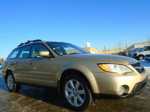 2008 SUBARU OUTBACK 2.5I LIMITED PKG-LEATHER-SUNROOF-AWD Wagon