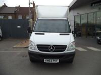 Mercedes-Benz Sprinter LWB 313CDi CURTAIN SIDE VAN EURO 5 DIESEL MANUAL (2013)