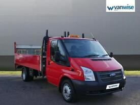 2013 Ford Transit Chassis Cab TDCi 125ps [DRW] Diesel red Manual