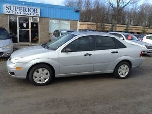 2006 Ford Focus Fully certified! Carproof Verified!