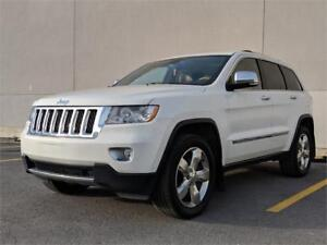 2012 JEEP GRAND CHEROKEE OVERLAND - FULL LOADED V6