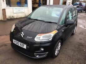 2010 Citroen C3 Picasso 1.6HDi ( 92bhp ) VTR+ MANUAL IN BLACK