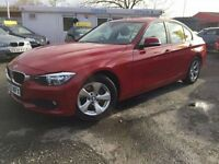 BMW 3 SERIES 2.0 320D EFFICIENTDYNAMICS 4d 161 BHP 1 OWNER FROM (red) 2013