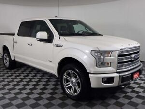 2017 Ford F-150 LIMITED w/PANORAMIC ROOF, ADAPTIVE CRUISE, POWER
