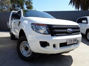 2014 Ford Ranger PX XL Super Cab White 6 Speed Manual Cab Chassis Enfield Port Adelaide Area Preview