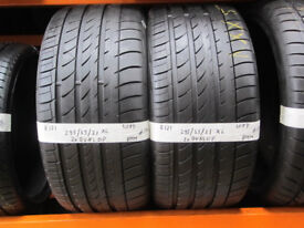 R121 2X 295/35/21 107Y DUNLOP SP QUATTRO MAXX XL 2X8MM TREAD