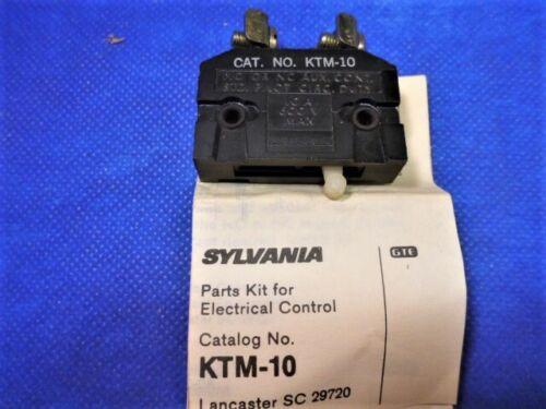 KTM-10 GTE Sylvania - Parts Kit for Electrical Control - NEW