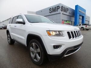 2016 Jeep Grand Cherokee Limited 4X4, leather, rem. start, back
