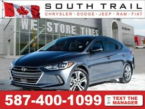 '18 Hyundai Elantra - Lthr, Htd Sts, Big Screen, Bluetooth