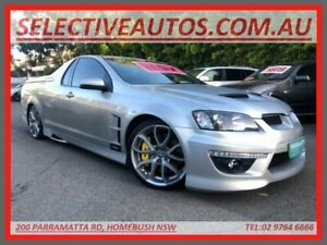 2007 Holden Special Vehicles Maloo E Series R8 Silver 6 Speed Automatic Utility Homebush Strathfield Area Preview